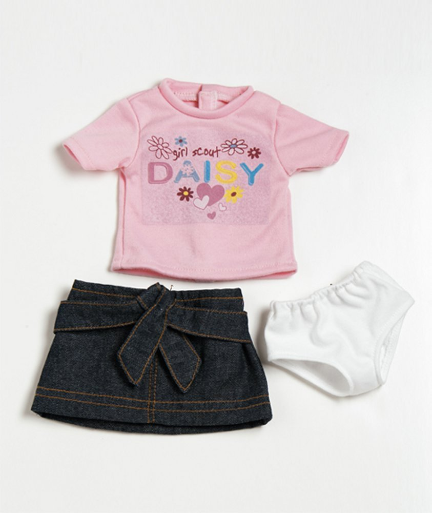Daisy Pink Shirt/Skirt Outfit