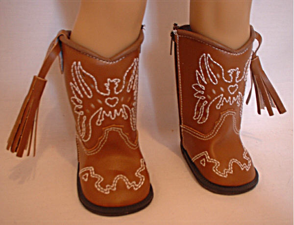 Brown Cowboy Boot