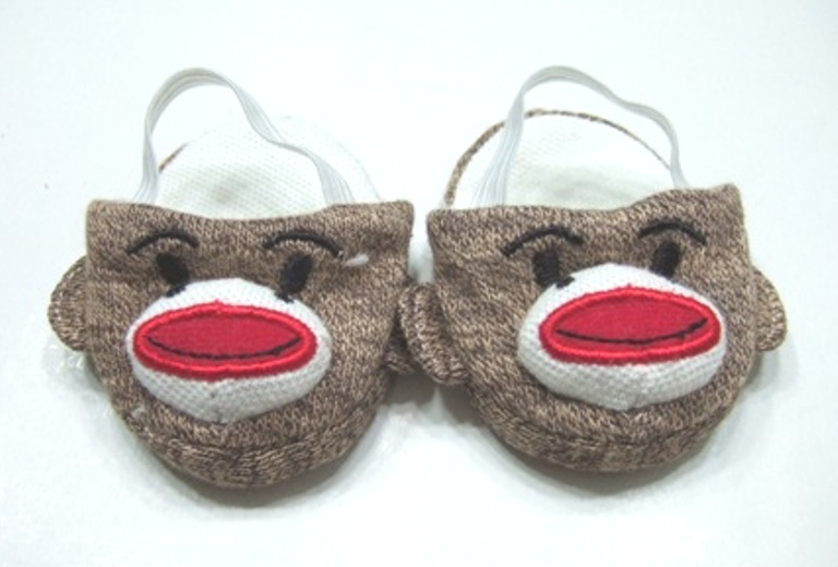 Sock Monkey Slippers