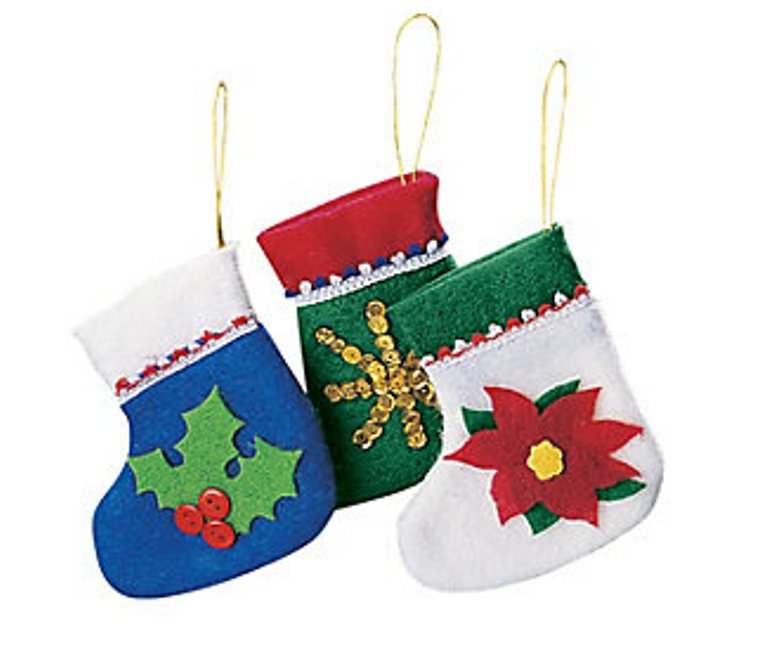 Mini Holiday Stocking